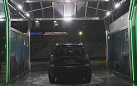 LED освещение автомобильной мойки