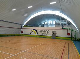LED освещение спортзала