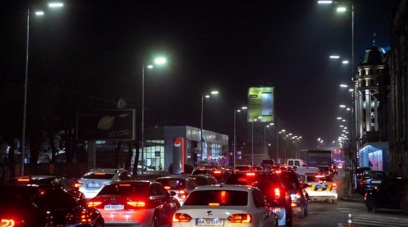 освещение Киев